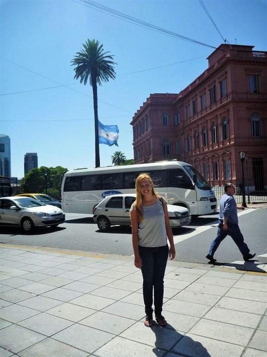 Eu e a Casa Rosada