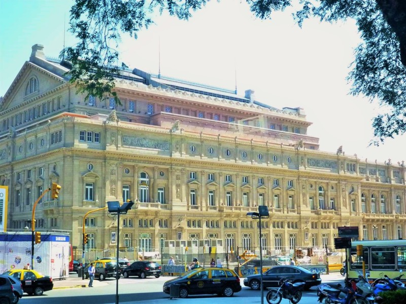 Lateral Teatro Colon | Like Wanderlust