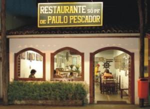 Frente do Restaurante Paulo Pescador