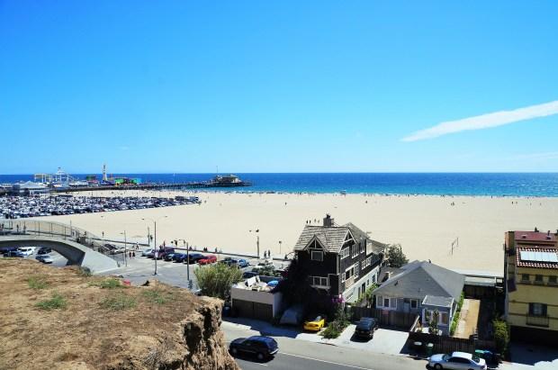 Praia de Santa Monica - LA