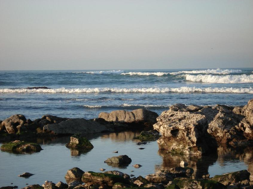 Lindas praia em Bidart