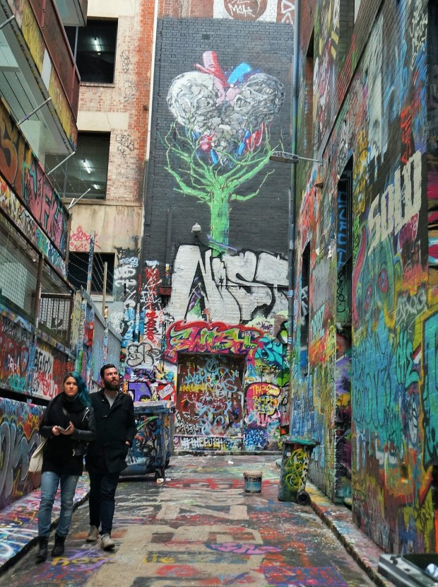 grafites Hosier Lane
