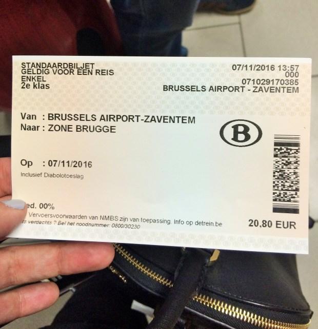 Como ir de Bruxelas para Bruges? Veja quanto vale a passagem