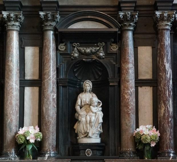 Roteiro de um dia em Bruges - Our Lady Church