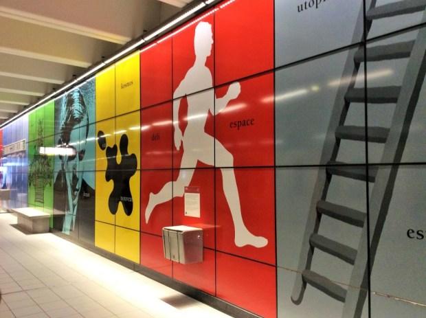 como se locomover em Bruxelas - estação Heizel