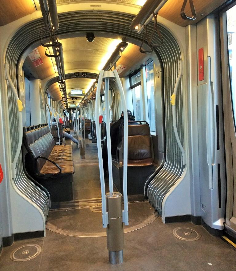 como se locomover em Bruxelas - Tram