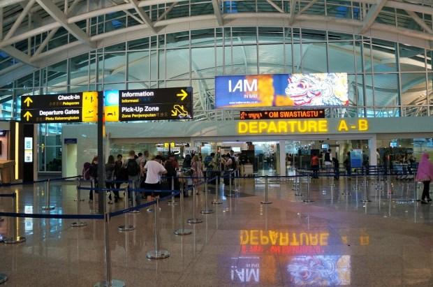Aeroporto Internacional de Bali - entrada A e B