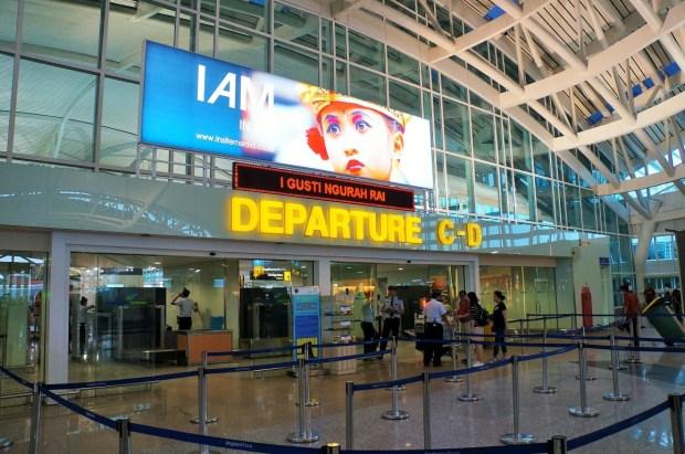 Aeroporto Internacional de Bali - Entrada C e D