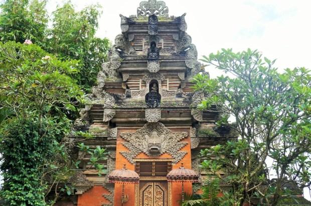 Coisas para fazer em Ubud - Palácio de Ubud e seus detalhes