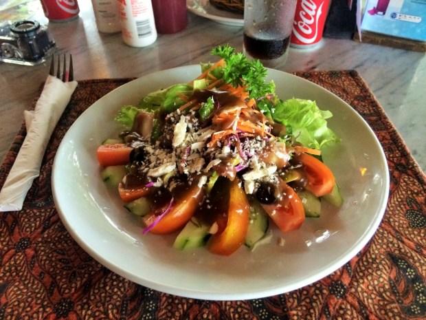 O que fazer em Sanur - salada perigosa