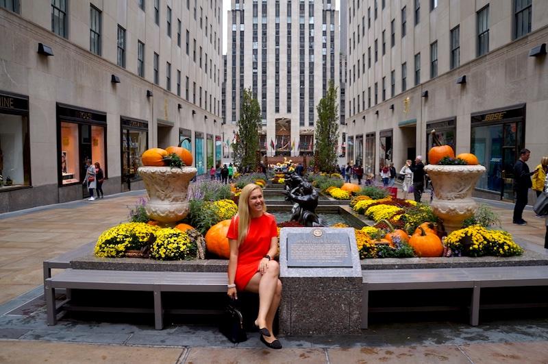 Halloween em Nova York - Rockefeller Centre