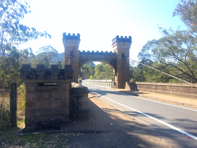 Hampden Bridge - visitar Kangaroo Valley