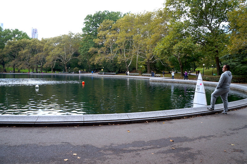 Conservatory Water - Central Park em Nova York