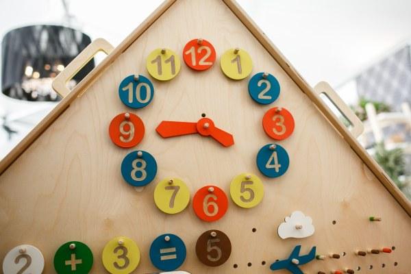 Набор аксессуаров ЧАСЫ для вашего игрового дома LiL HOUSE