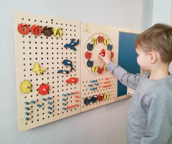 Детская доска активности от LiL HOUSE большая
