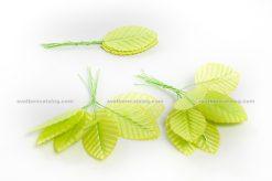 Зелени листенца с дръжки