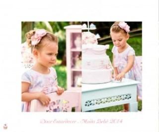 Vestido de festa com Renda Butterflly Paraíso Moda Bebê