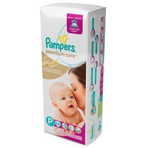 Fralda Descartável Pampers Premium Care Mega Tamanho P 56 Unidades