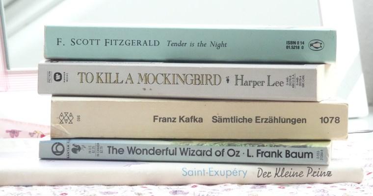 READING BUCKET LIST: Classic Novels //life