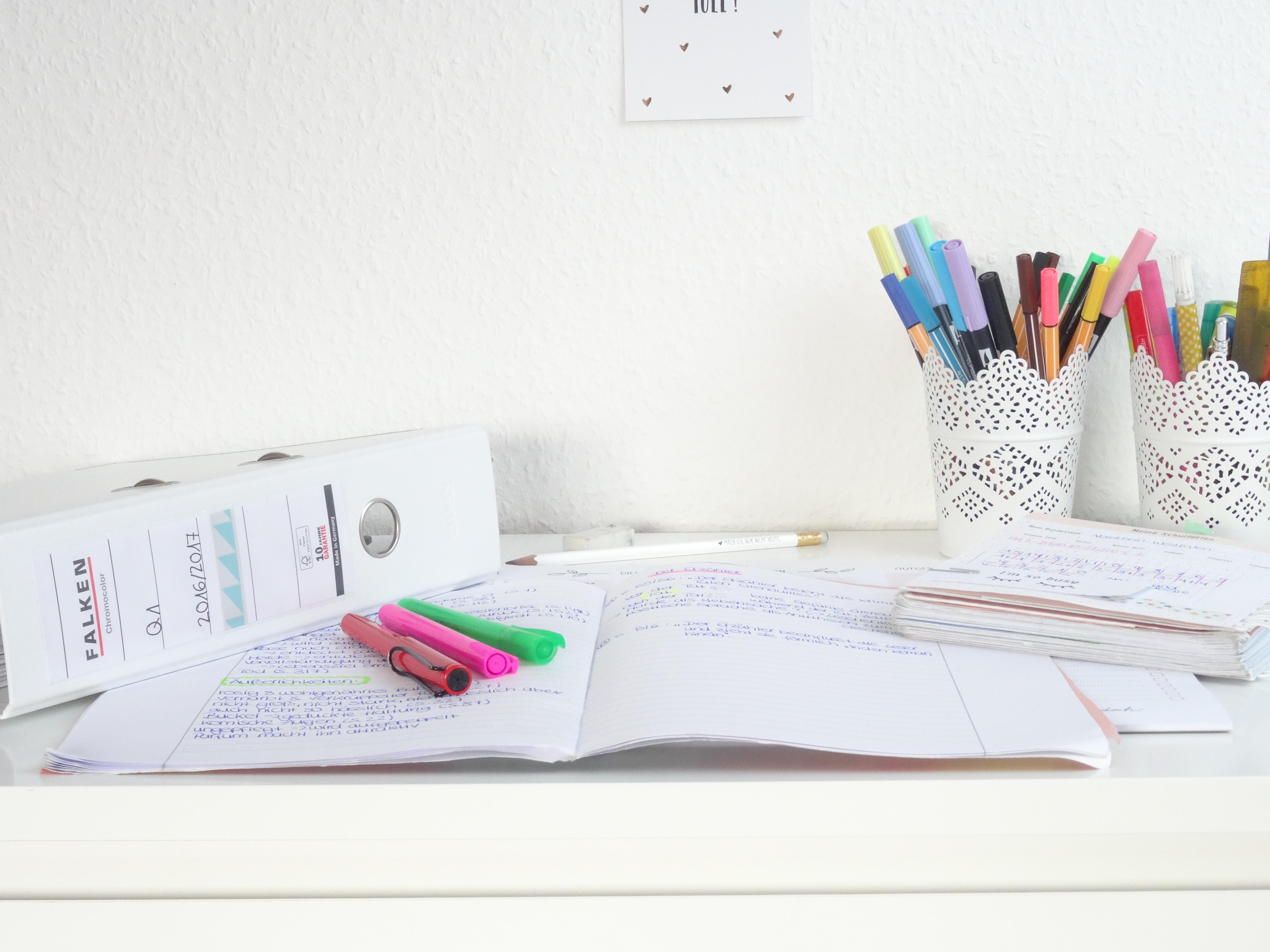 5 Tipps für BESSERE NOTEN //planning