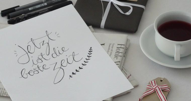 DIY: einfaches Lettering zum nachmachen //life