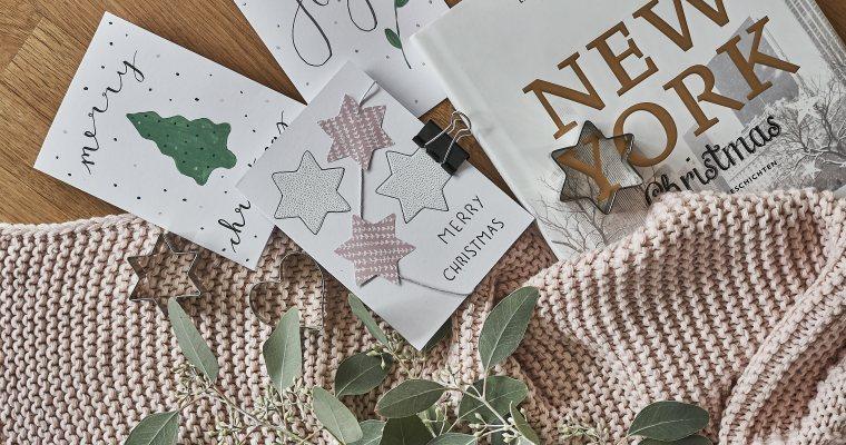 DIY: Last Minute Weihnachtskarten + meine liebsten Shops für Geschenkkarten
