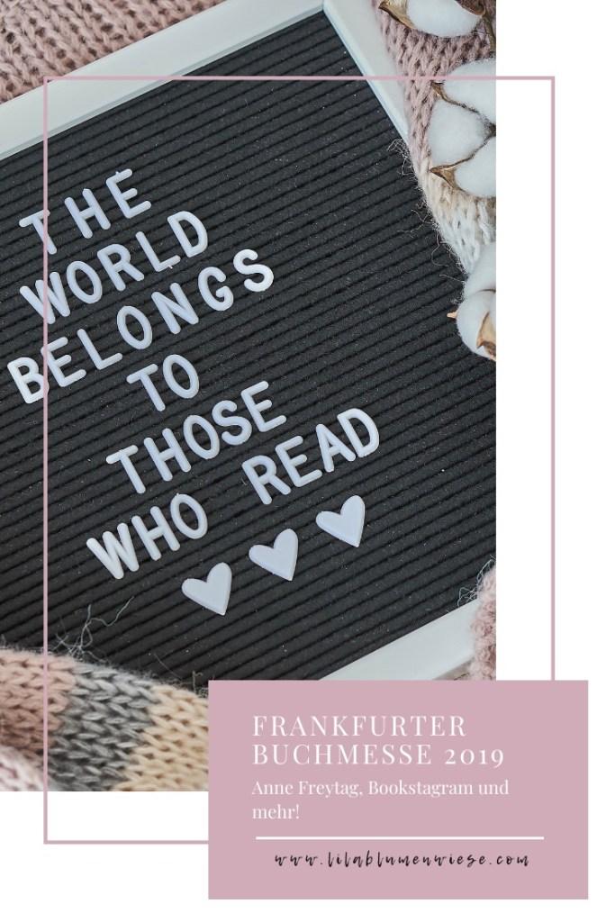 Die Frankfurter Buchmesse 2019