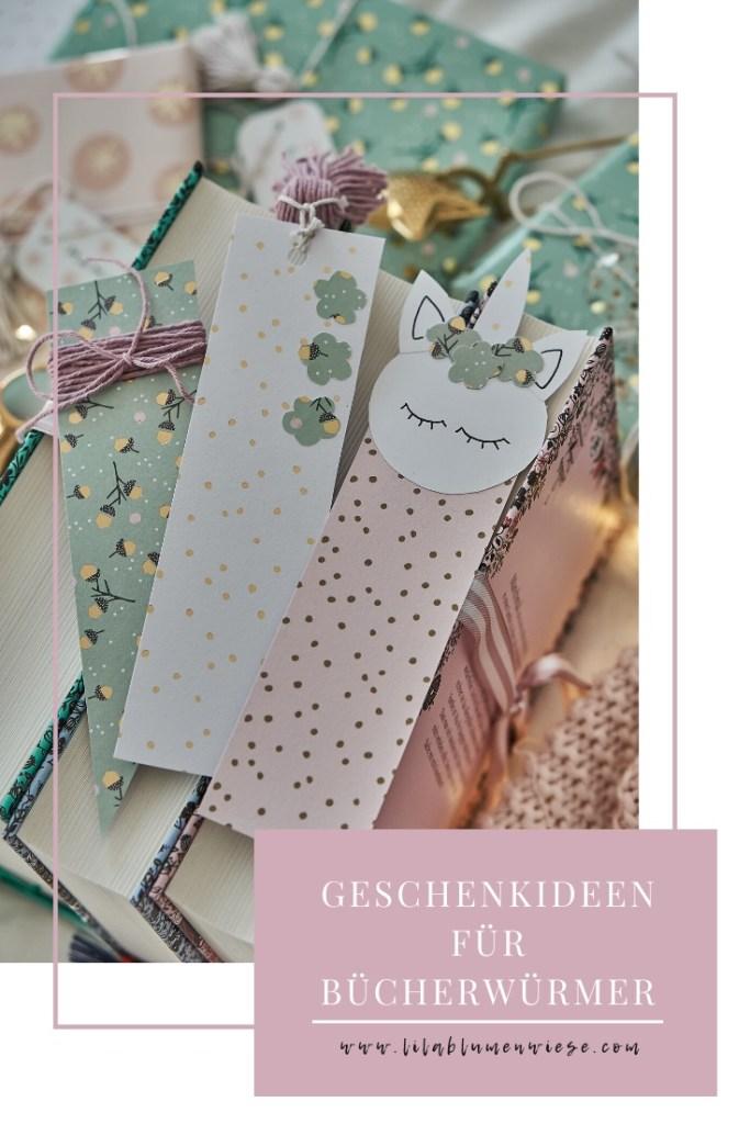 Geschenkideen für Bücherwürmer + DIY Lesezeichen