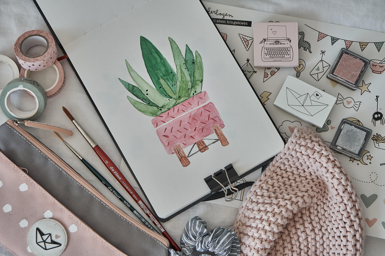 DIY: erste Schritte in der Aquarellmalerei – das musst du wissen