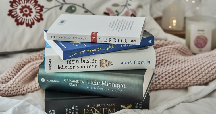 LESEUPDATE #12: Fünf Bücher, die ich diesen Sommer lesen möchte