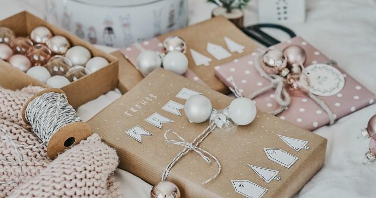 DIY: Geschenke kreativ verpacken + Weihnachtskarten gestalten