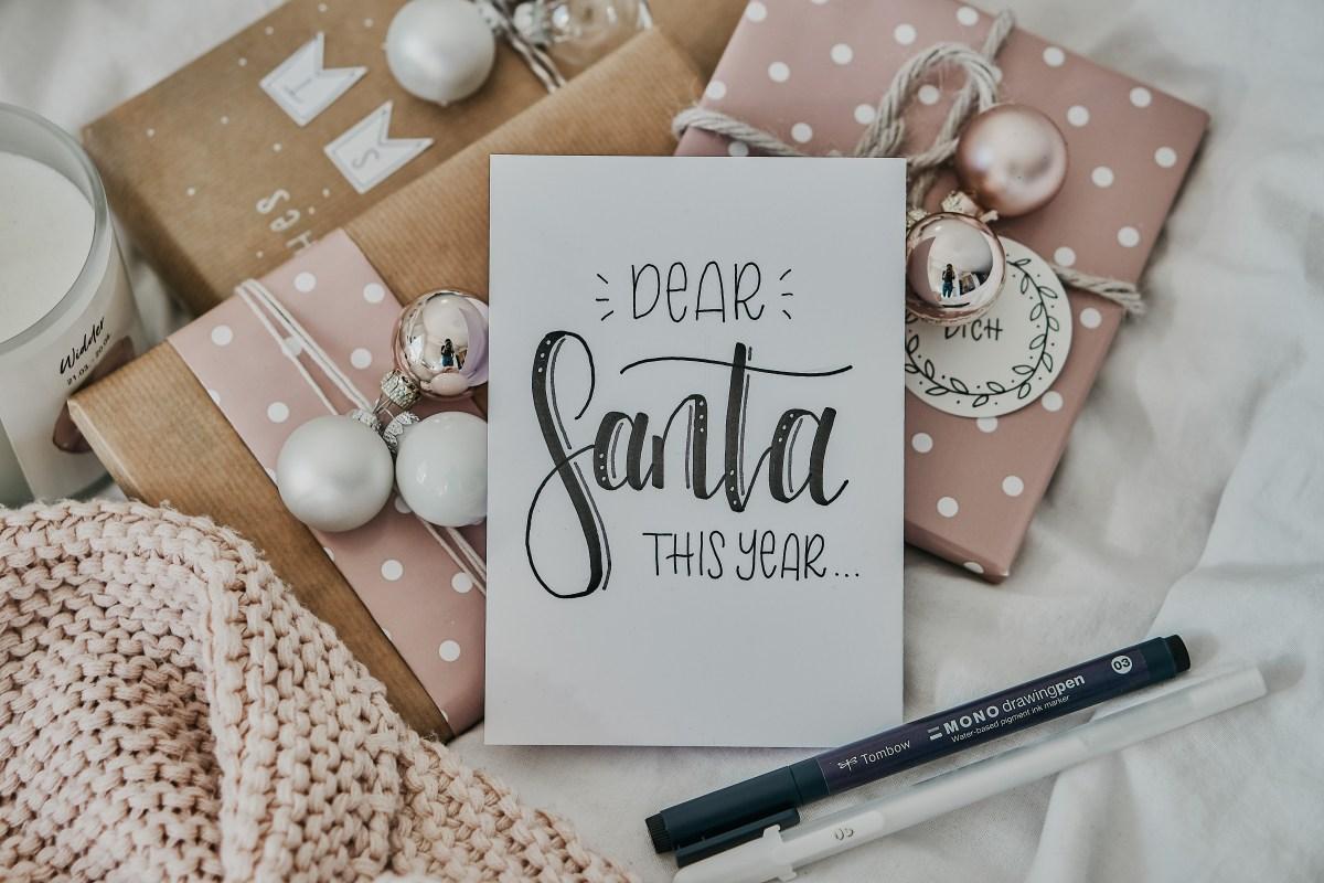 Dear Santa: die schönsten Geschenkideen für deine Liebsten!