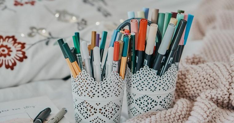 DIY: Handlettering & Co – DAS sind die besten Stifte