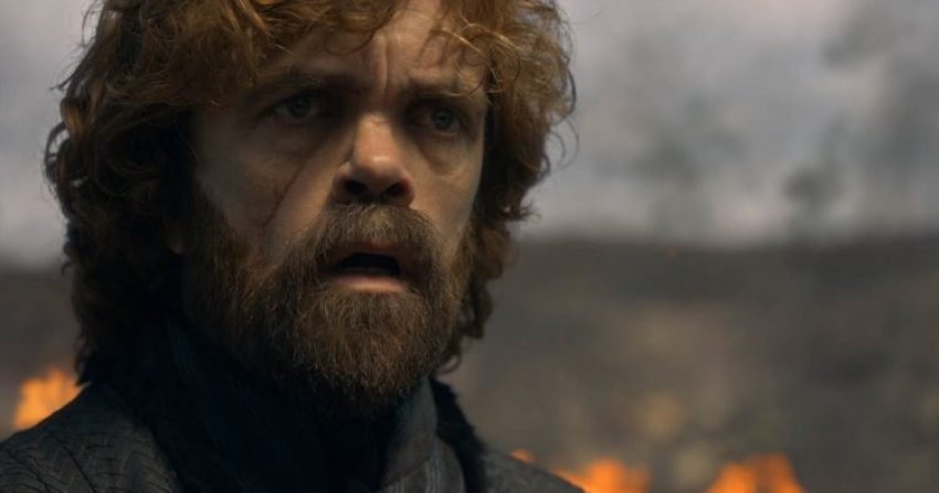 Shocked Tyrion in The Bells episode