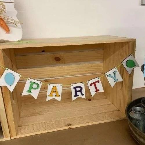 Happy Birthday 3-Tiered Tray Set