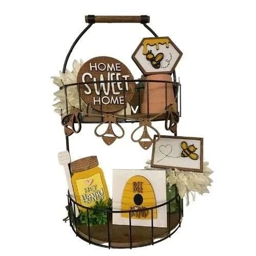 Honey Bee Tiered Tray Set