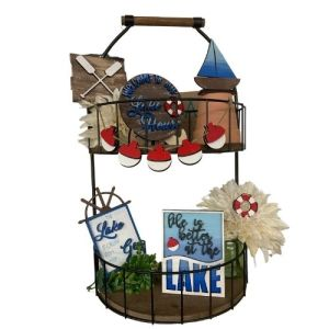 Lake Living Tiered Tray Set