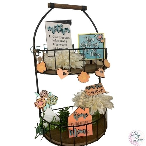 Mother's Day Tiered Tray Kit by Lilac Lane DIY