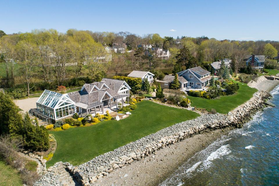 This $8.5 Million Beachfront Estate In Rhode Island Is The Perfect Family Compound