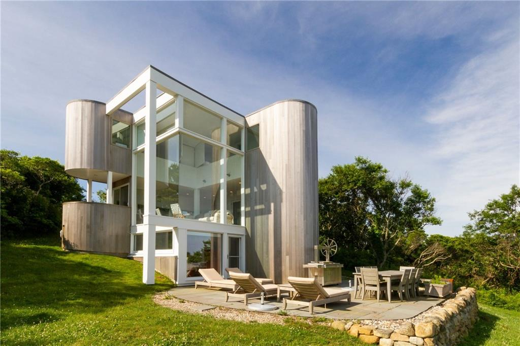Glass-walled contemporary on Block Island asks $1.6M