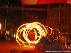I did appreciate the fire dancing at night. Those artists or athletes are just awesome!