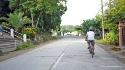 Our amazing host, Rock Drilon on his ever reliable Brompton folding bike.