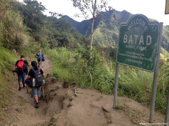 Welcome to Batad