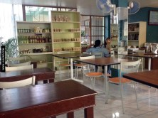 Inside Sibol - Enjoy a cup of coffee or buy local and organic products