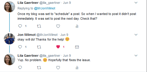 Conversation with Jon