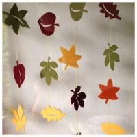 Blättergestöber - drinnen und draußen