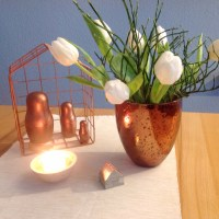 Friday-Flowerday - oder - White and Copper
