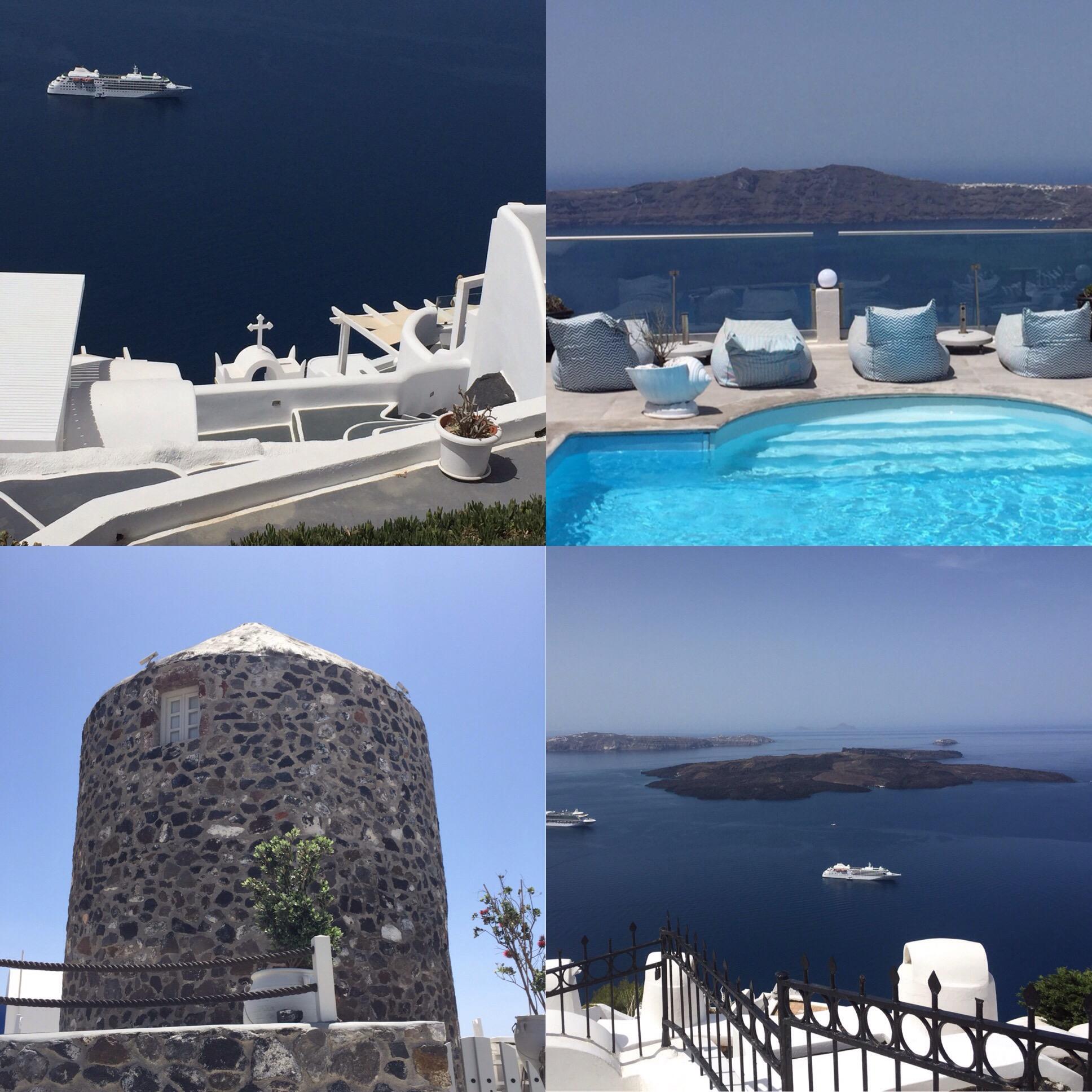 Das Glück einen Sehnsuchtsort zu haben – oder – Bilder von Santorini