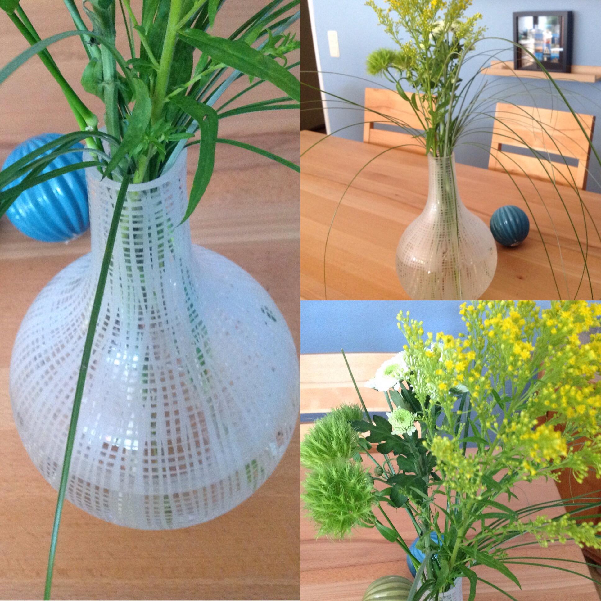 Friday-Flowerday – oder – Viel Vase und ein wenig Grün