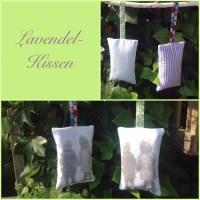 Lavendelsäckchen mit Lavendeldruck - oder - Das ist ja dufte
